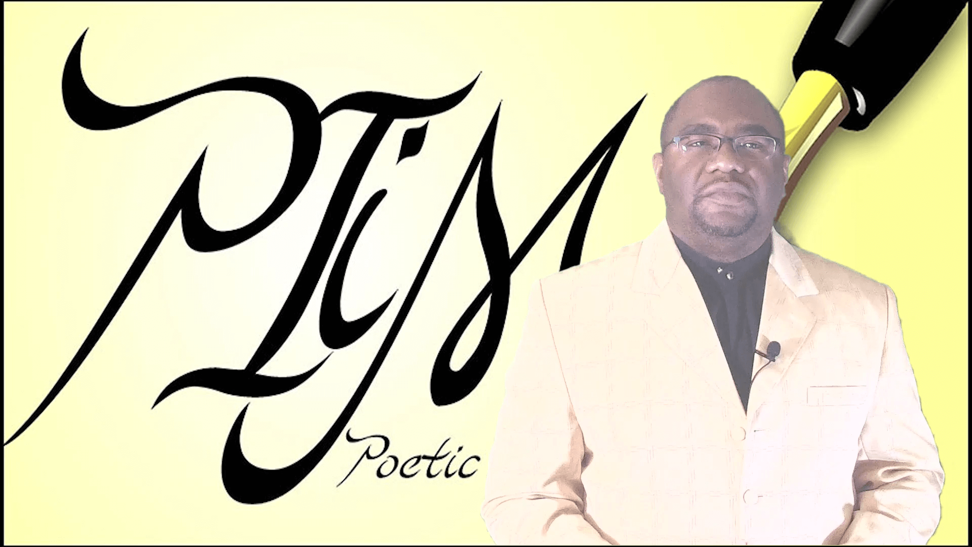 poetic imagery in motion logo with dimity